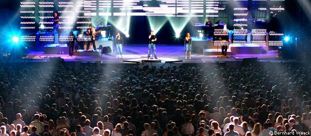 Eros2 in Eros Ramazzotti Tour 2006
